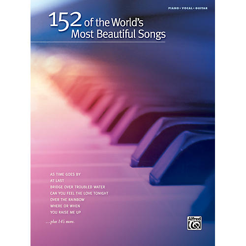 Hal Leonard 152 of the World's Most Beautiful Songs Piano/Vocal/Guitar Book