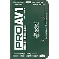 Radial Engineering Proav1 Single-Channel Direct Box