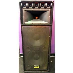 used dfx professional audio 1554 pro ii unpowered speaker guitar center. Black Bedroom Furniture Sets. Home Design Ideas