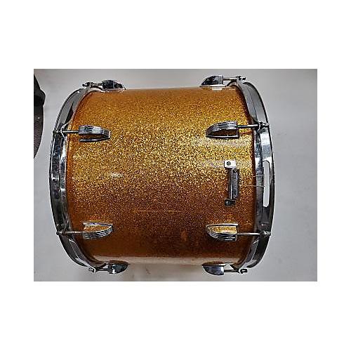 Ludwig 15X12 Blue/Olive Badge Drum