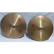 Paiste 15in 2002 Medium Hi Hat Pair Cymbal