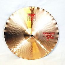 Paiste 15in 2002 SOUND EDGE HI HAT BOTTOM Cymbal
