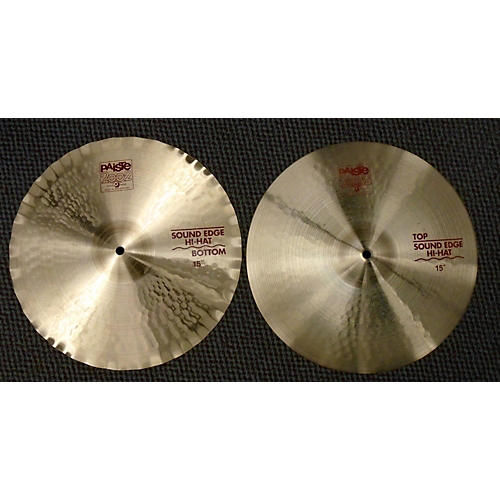 Paiste 15in 2002 Sound Edge Pair Cymbal