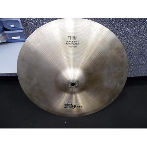 Zildjian 15in A Series Thin Crash Cymbal