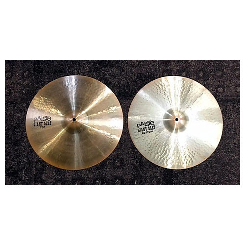 Paiste 15in Giant Beat Hi Hat Pair Cymbal