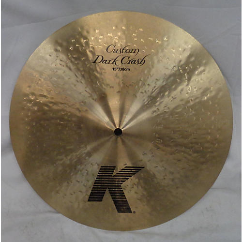 Zildjian 15in K Custom Dark Crash Cymbal