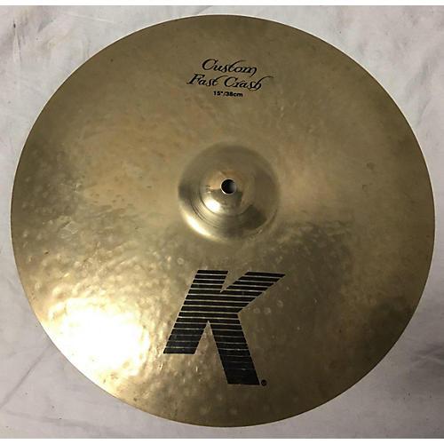 Zildjian 15in K Custom Fast Crash Cymbal