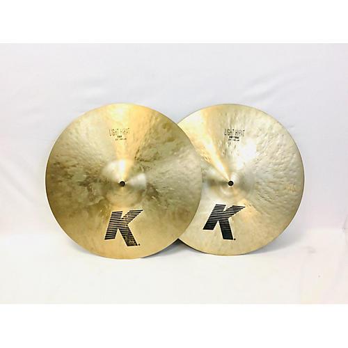 Zildjian 15in K Light Hi Hat Pair Cymbal