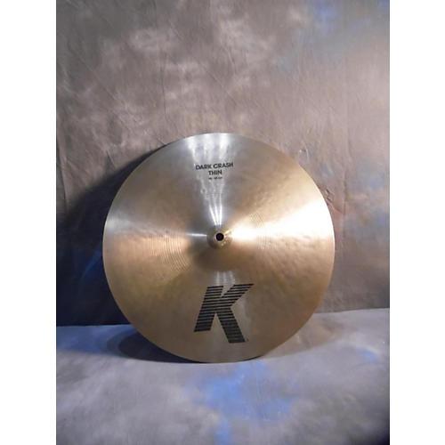 Zildjian 15in K Thin Dark Crash Cymbal