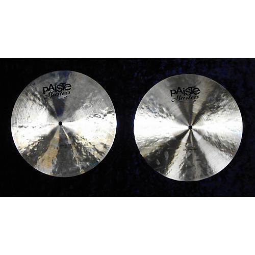 Paiste 15in MASTERS DARK HI HAT PAIR Cymbal