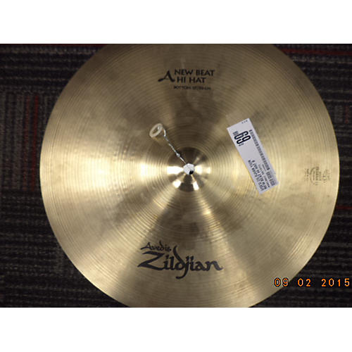 Zildjian 15in New Beat Hi Hat Bottom Cymbal