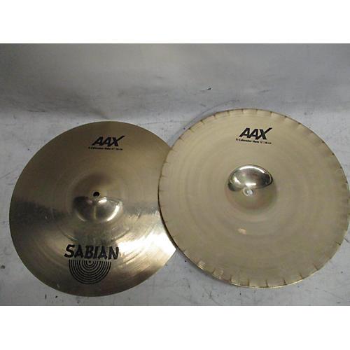 Sabian 15in XS20 X-Celerator Hi Hat Pair Brilliant Cymbal