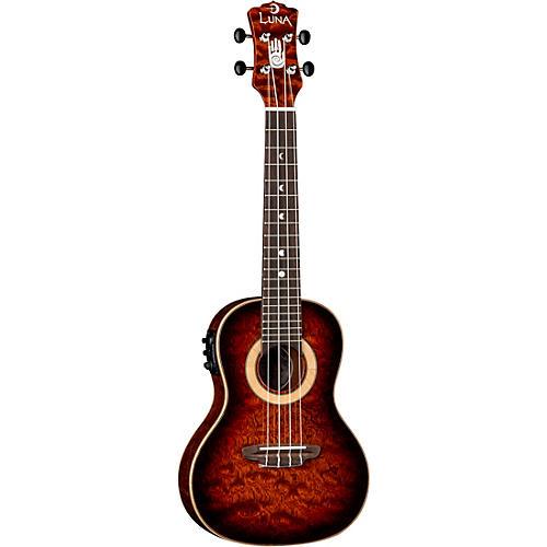 Luna Guitars 15th Anniversary Koa Concert Acoustic-Electric Ukulele
