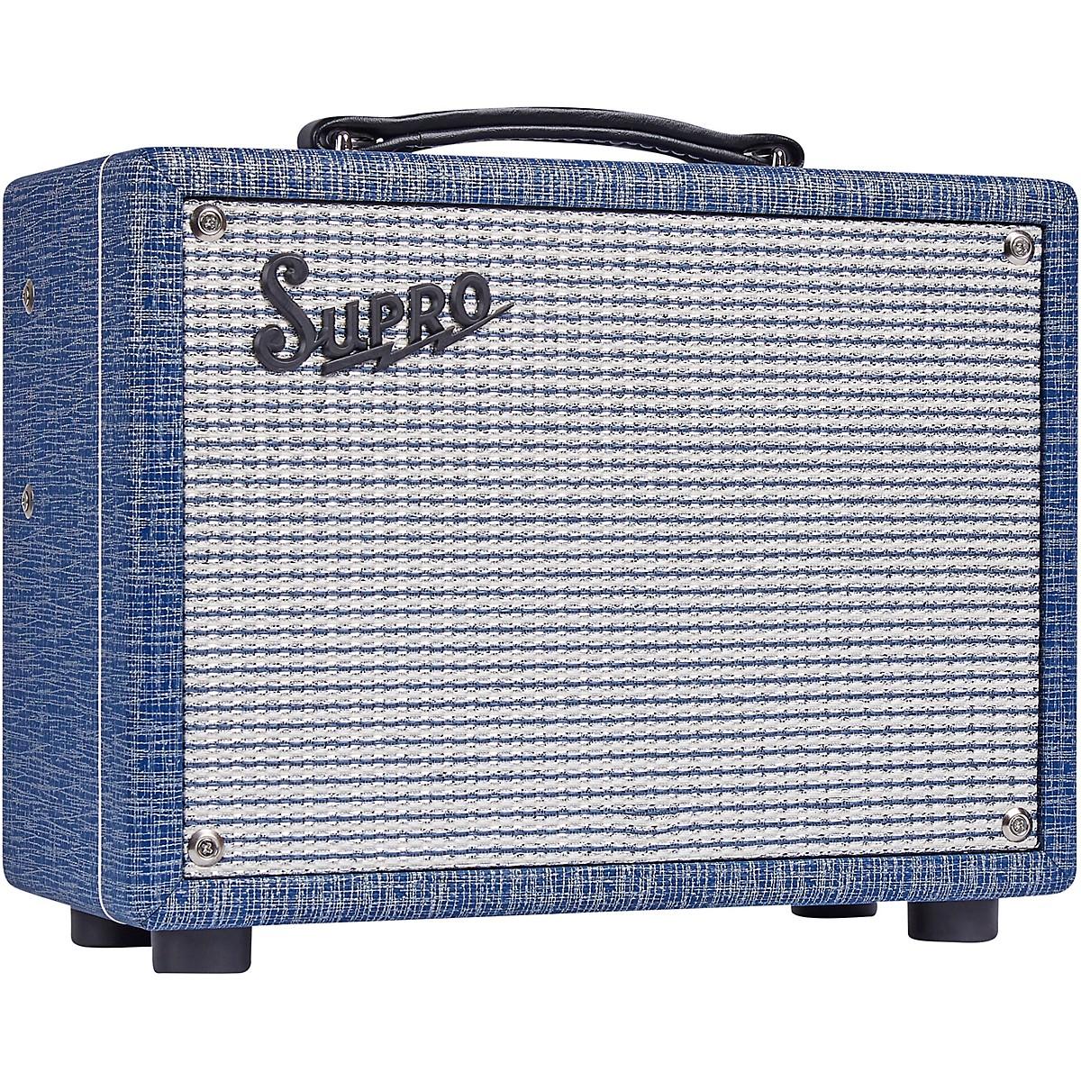 Supro 1606J 64 Super 5W 1x8 Tube Guitar Combo Amp