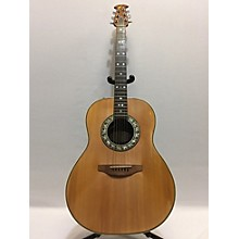 Ovation 1612-4 Acoustic Electric Guitar