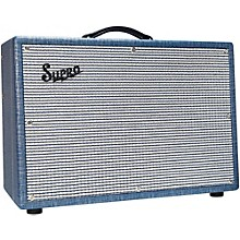 Supro 1624T Dual-Tone 24W 1x12 Tube Guitar Combo Amp Level 1
