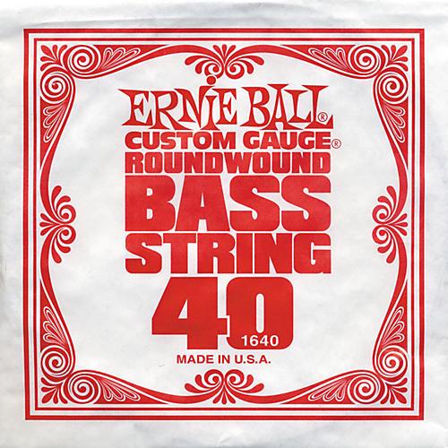 Ernie Ball 1640 Single Bass Guitar String