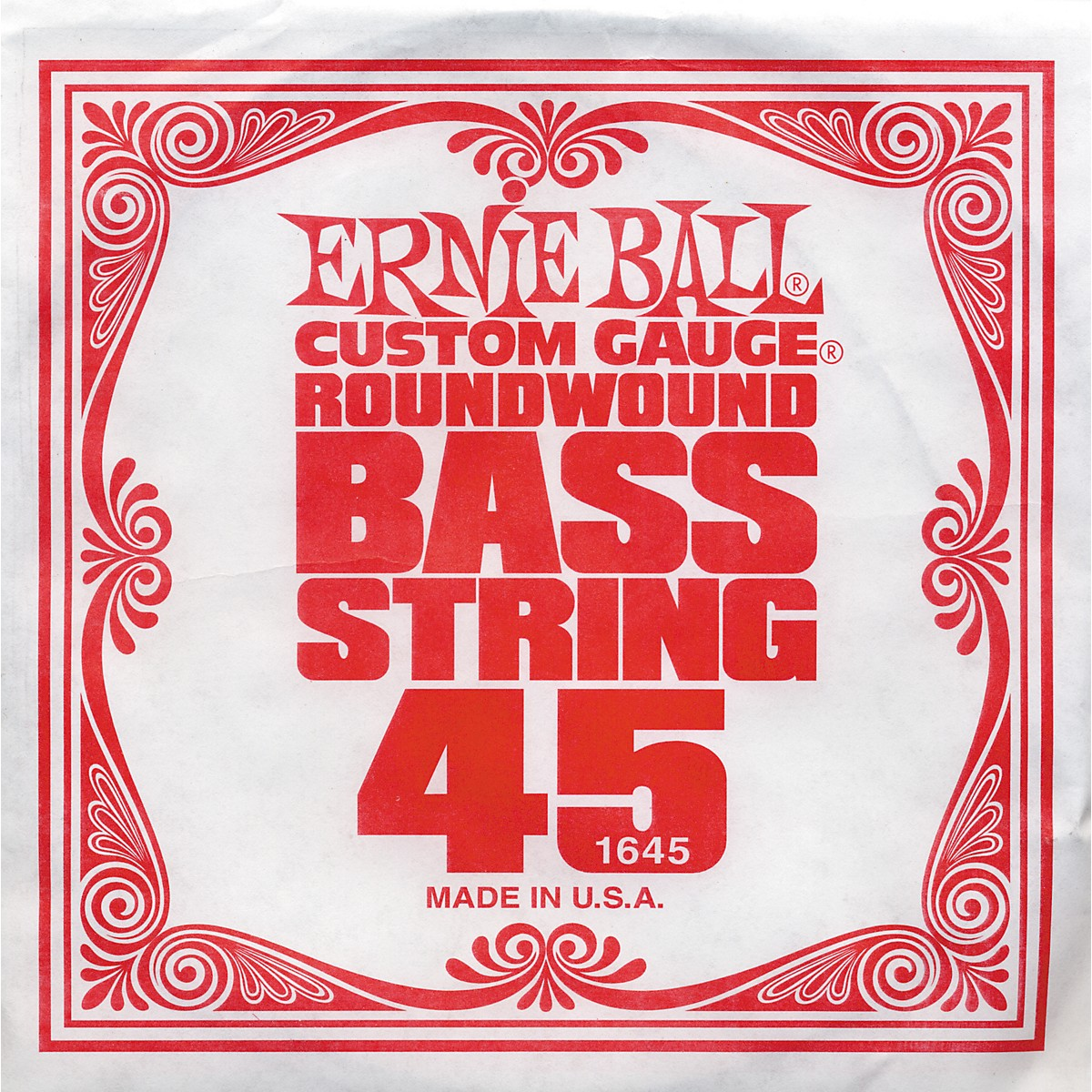 Ernie Ball 1645 Single Bass Guitar String