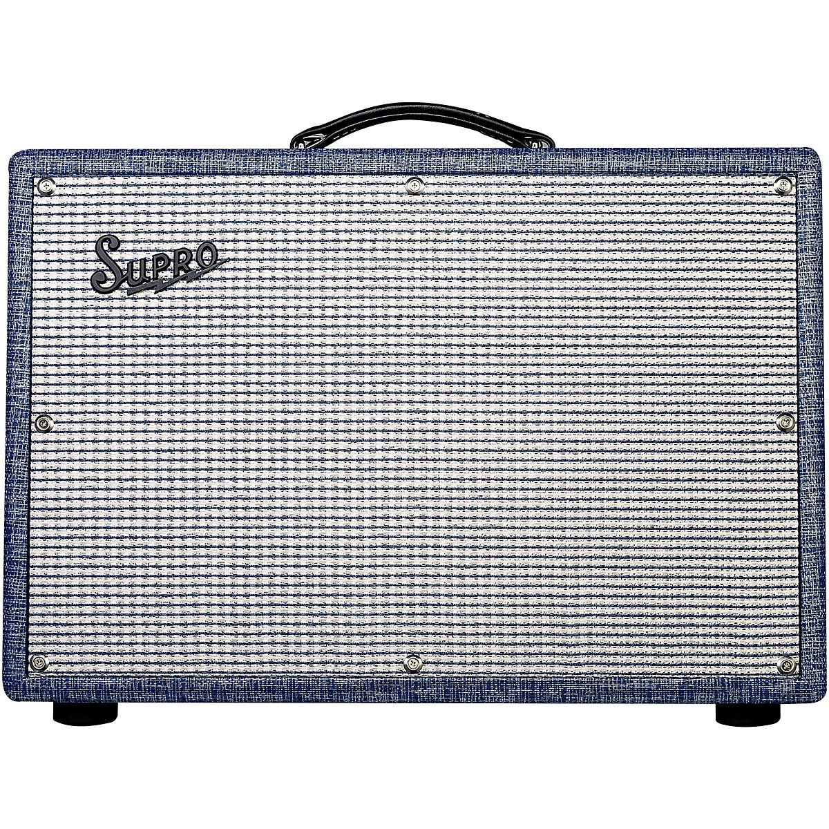 Supro 1650RT Royal Reverb 35/60W 2x10 Tube Guitar Combo Amp