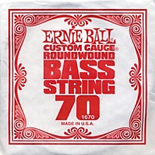 Ernie Ball 1670 Single Bass Guitar String