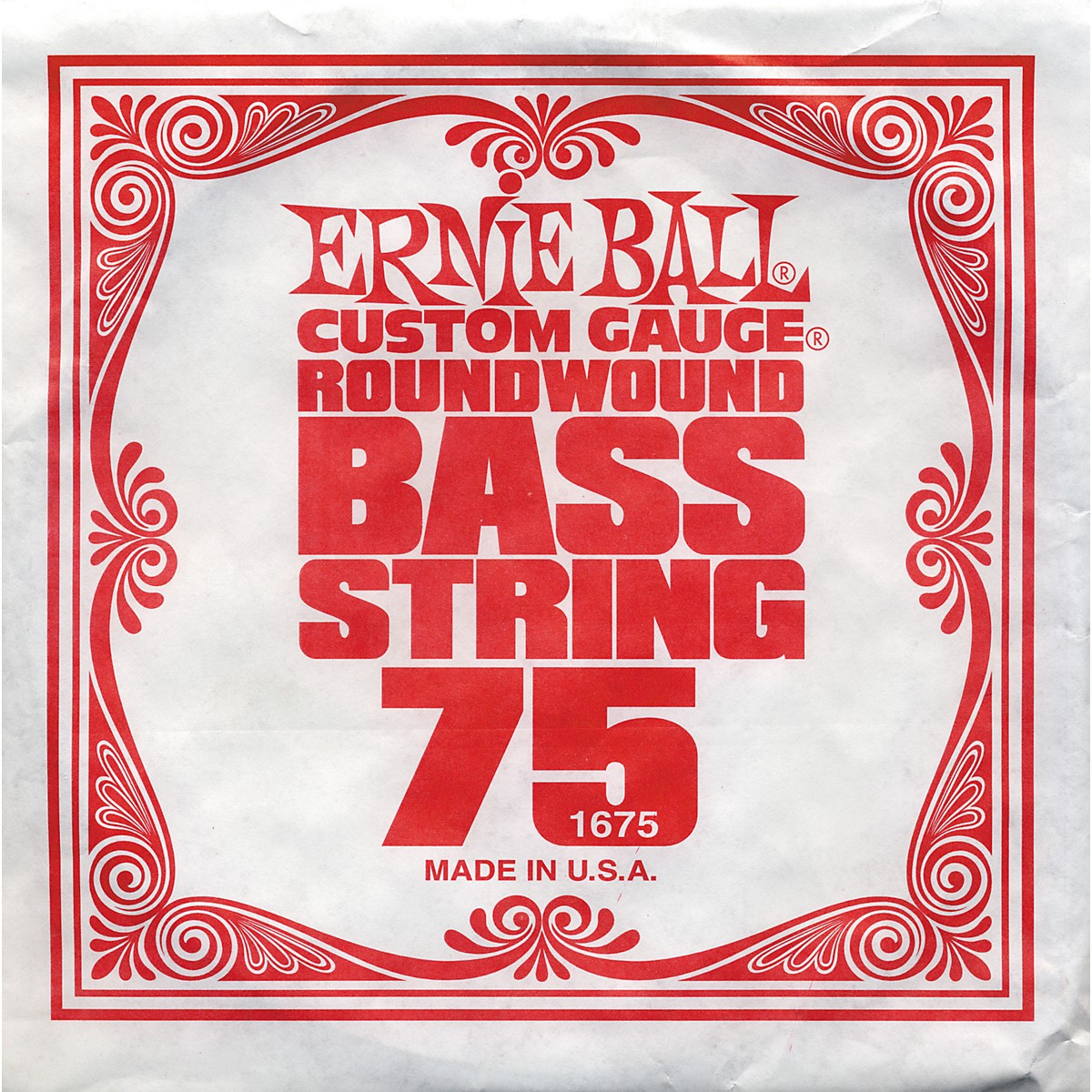 Ernie Ball 1675 Single Bass Guitar String