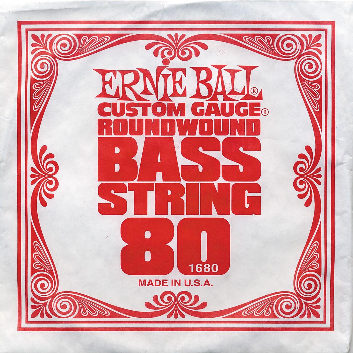 Ernie Ball 1680 Single Bass Guitar String