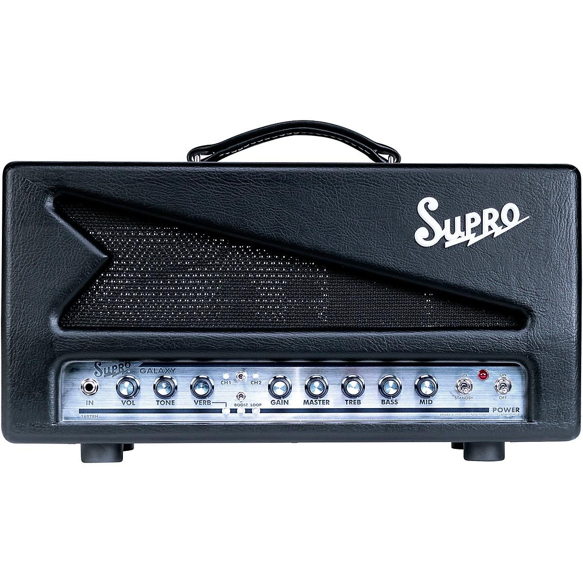 Supro 1697RH Galaxy 50W Tube Guitar Amp Head