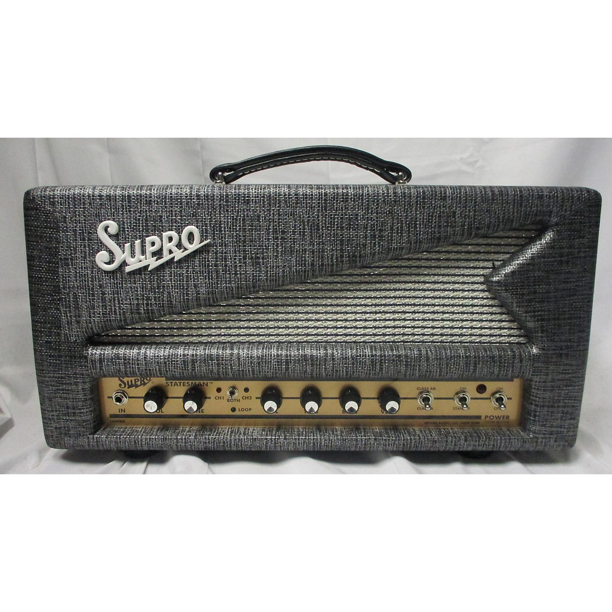 Supro 1699R Statesman Tube Guitar Amp Head
