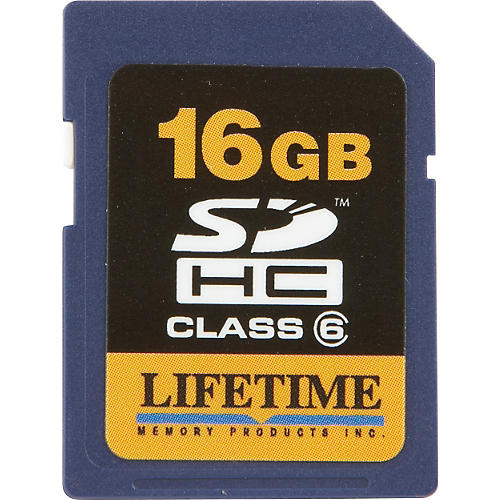 Lifetime Memory Products 16GB Secure Digital Card