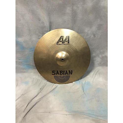 Sabian 16in 16in AA MEDIUM CRASH CYMBAL Cymbal