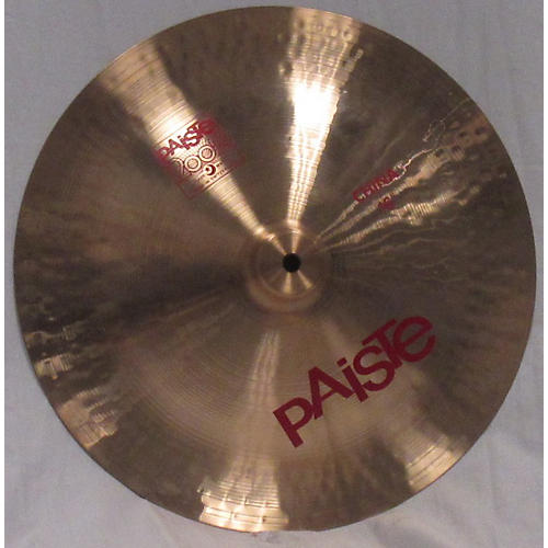 used paiste 16in 2002 china cymbal guitar center. Black Bedroom Furniture Sets. Home Design Ideas