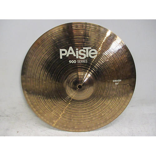 used paiste 16in 900 series crash cymbal 36 guitar center. Black Bedroom Furniture Sets. Home Design Ideas