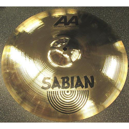 Sabian 16in AA Medium Crash Cymbal