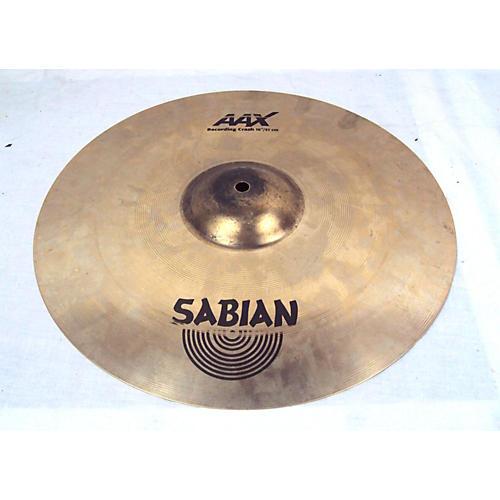 Sabian 16in AA Recording Crash Cymbal