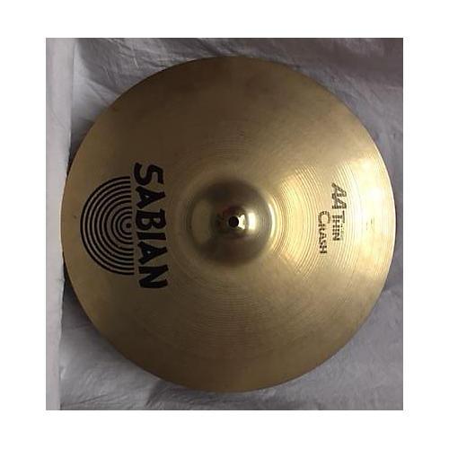 Sabian 16in AA Thin Crash Cymbal