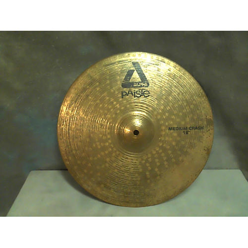 Paiste 16in Alpha Medium Crash Brilliant Cymbal