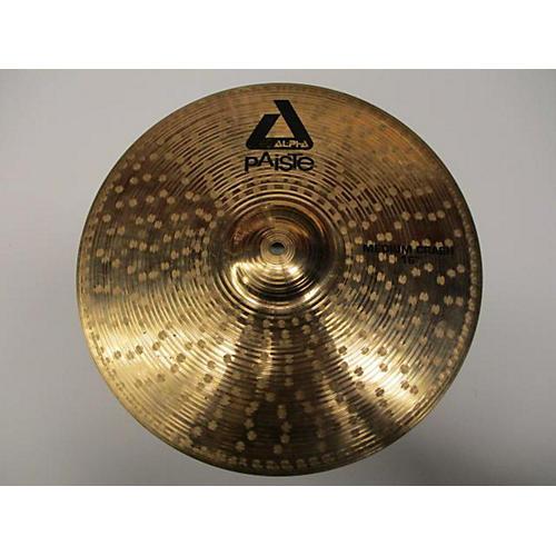 Paiste 16in Alpha Medium Crash Brilliant Cymbal