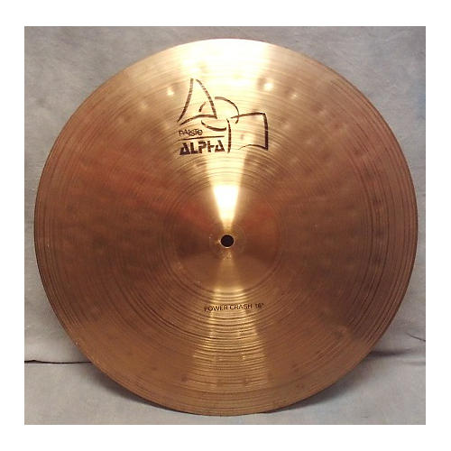 Paiste 16in Alpha Power Crash Cymbal
