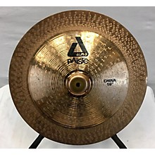 Paiste 16in Alpha Rock China Cymbal