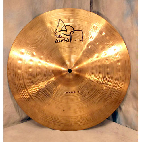 Paiste 16in Alpha Thin Crash Cymbal