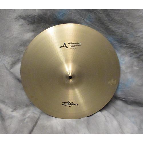 Zildjian 16in Armand Series Medium Thin Crash Cymbal