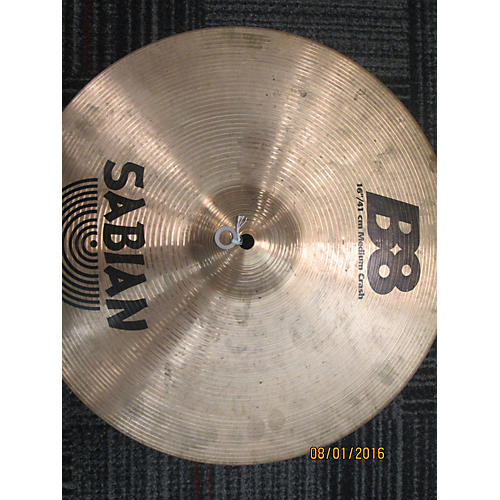 Sabian 16in B8 Medium Crash Cymbal