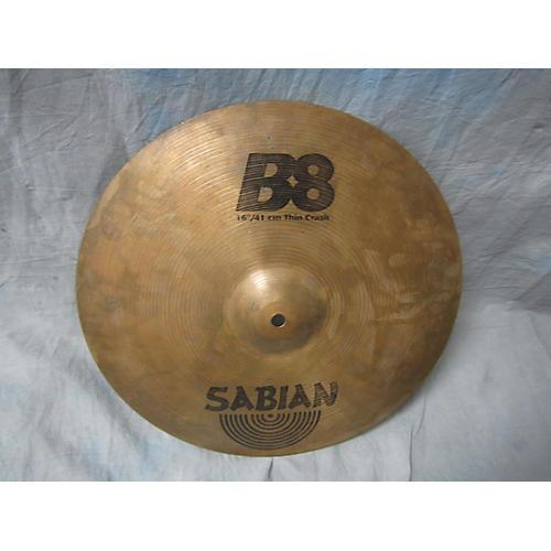 Sabian 16in B8 Thin Crash Cymbal