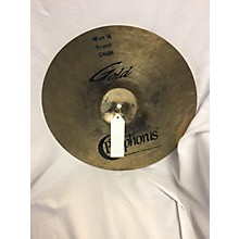 Bosphorus Cymbals 16in Gold Cymbal
