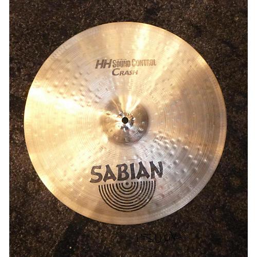Sabian 16in HH Sound Control Crash Brilliant Cymbal