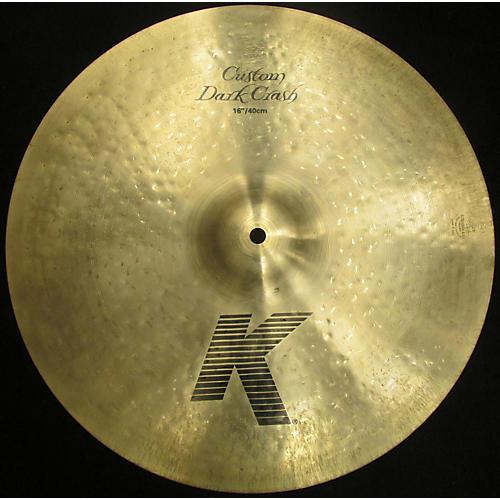Zildjian 16in K Custom Hybrid Crash Cymbal