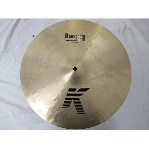 Zildjian 16in K Medium Dark Thin Crash Cymbal