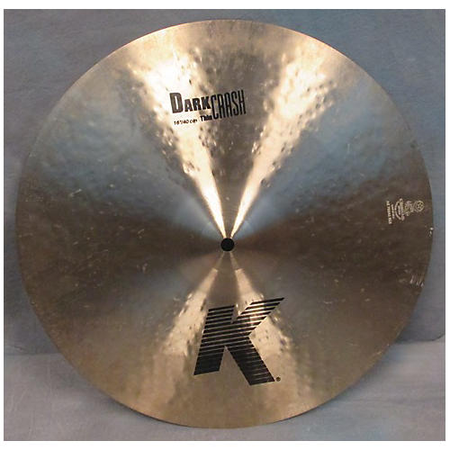 Zildjian 16in K Thin Dark Crash Cymbal
