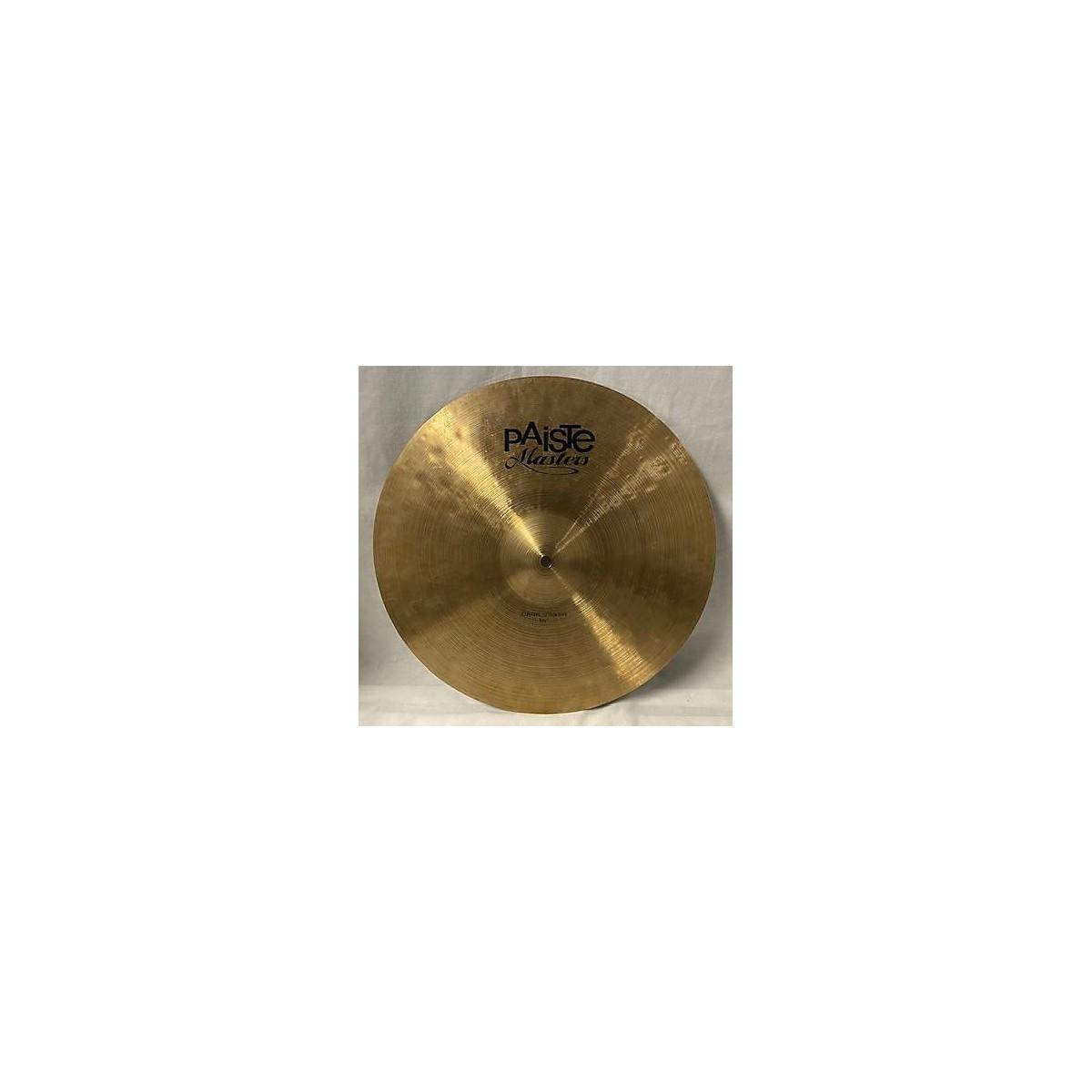 Paiste 16in MASTERS DARK CRASH Cymbal