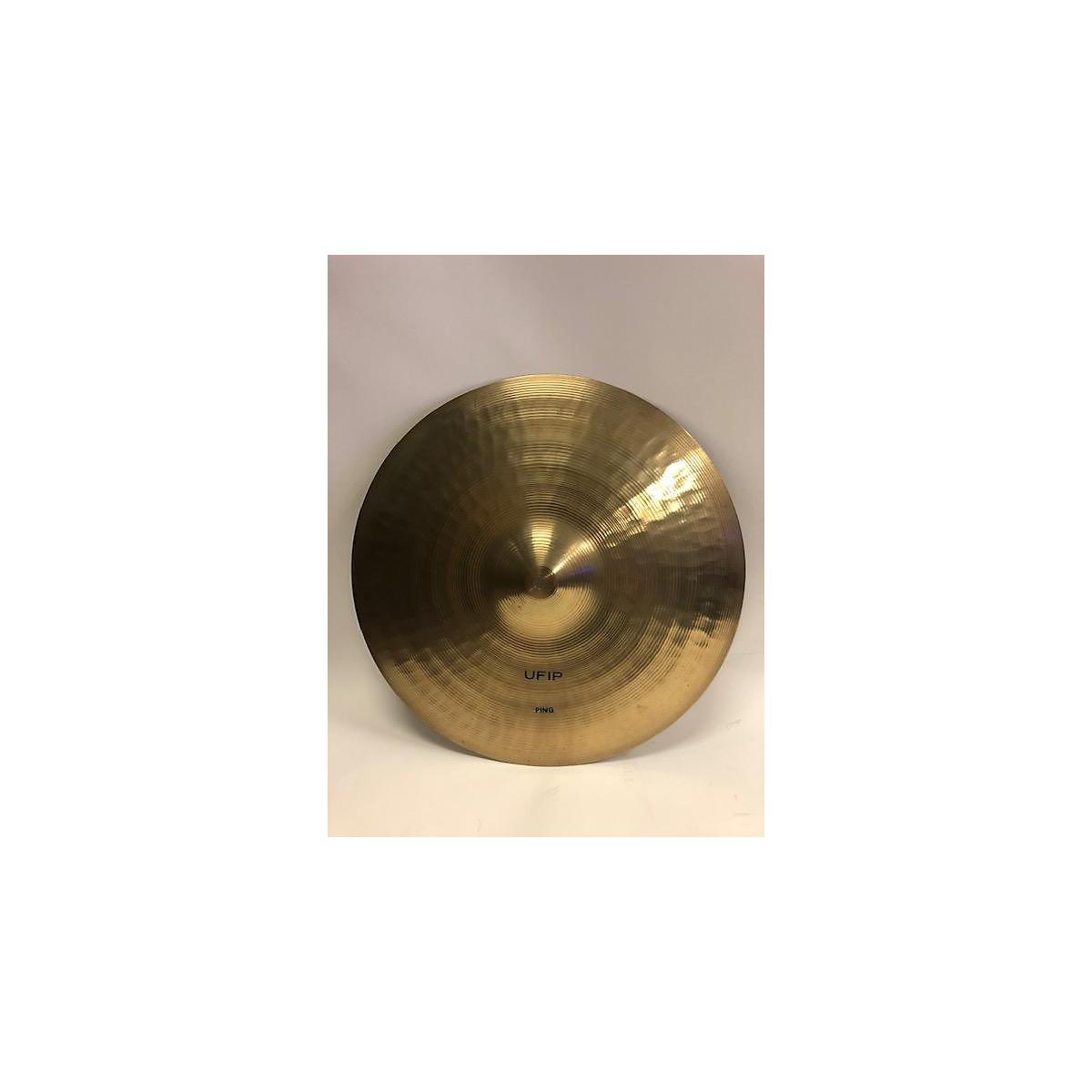 UFIP 16in Ping Crash Cymbal